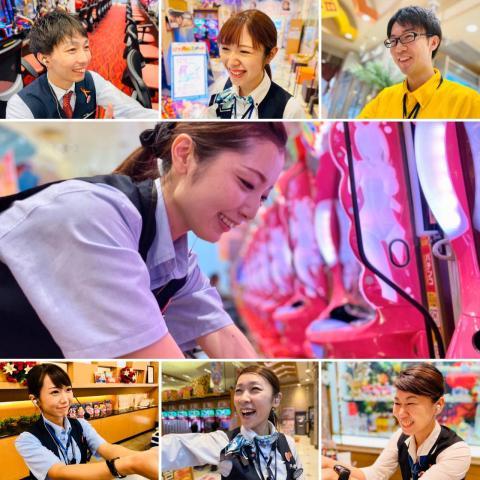 大和商事株式会社は、優しい笑顔でお客様をお出迎えしています!