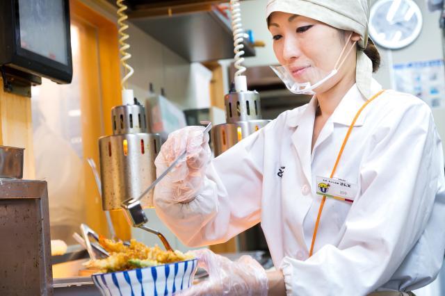 天丼・天ぷら本舗さん天のお仕事