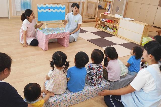≪加古川市≫【補助保育士】少人数で家庭的な保育園です♪子ども達に囲まれながら働いてみませんか?
