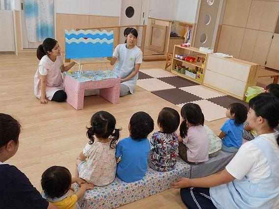 ≪明石市≫【パート保育士】少人数の家庭的な保育園で、子ども達に囲まれながら働いてみませんか?