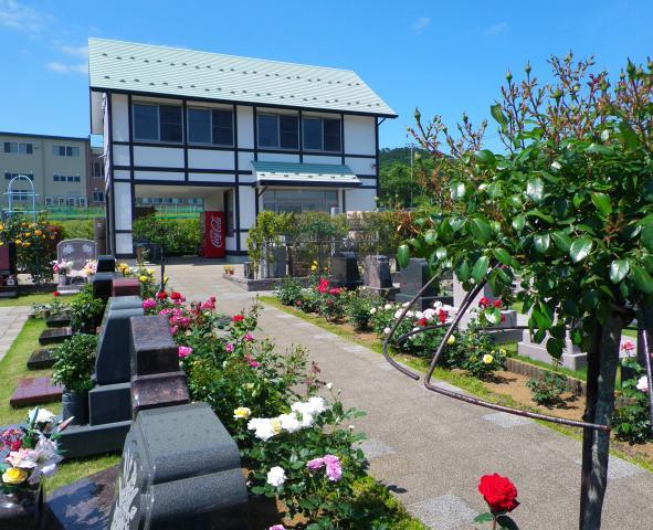2010年春にオープンした沼津市初の欧風霊園です。