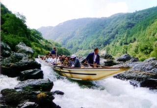 保津川遊船企業組合 1枚目