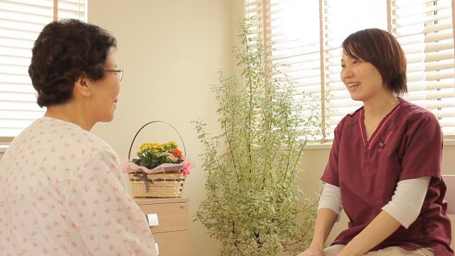 病棟とは異なりお客様とじっくり向き合い、その人らしく生きる為の看護を提供できることが魅力です。