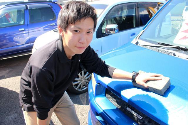 車好きがきっかけで、魅力ある会社に出会えて良かったです! 親しみやすくて熱い社長が、みんな大好きなんですよ☆