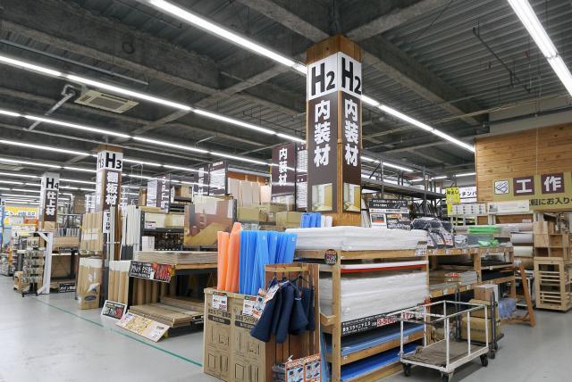 リフォーム・エクステリア用品売場