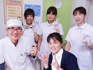 ともに働く仲間や患者さまとのコミュニケーションを楽しみながら働ける職場です♪