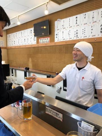 立呑み晩杯屋 中目黒目黒川RS店