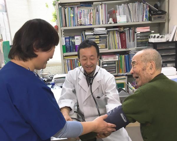 人とのふれあいを大切にしたい方なら、当院はぴったり。 やさしい笑顔で患者様の心のケアをお願いします。