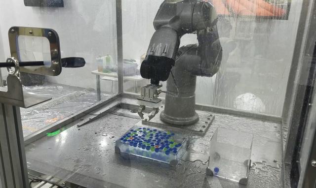 水洗いロボット