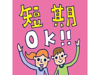 ☆4月20日から5月6日の短期間☆期間・時間・シフト 何でも相談して下さい!