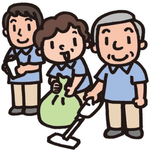 \30~50代の男女が共に活躍中!/あなたの頑張る時間が、マンションに住まれる方の心地良い時間に♪