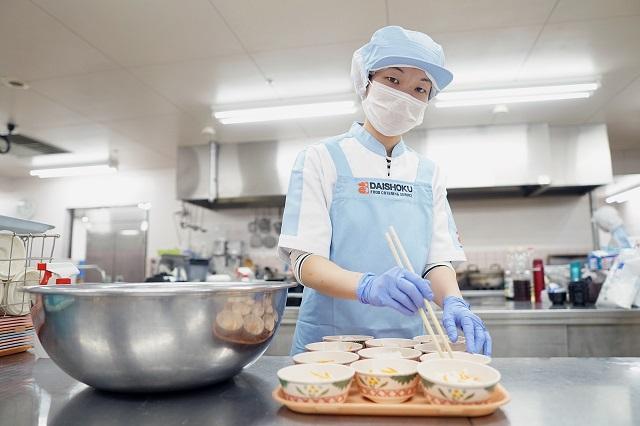 『田原本北中学校 厨房』大食産業株式会社