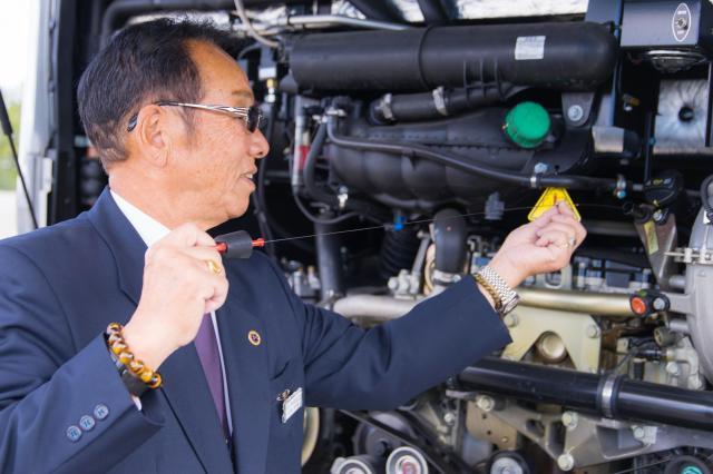 プロのドライバーに求められる知識・技術を、存分に学べる好環境。
