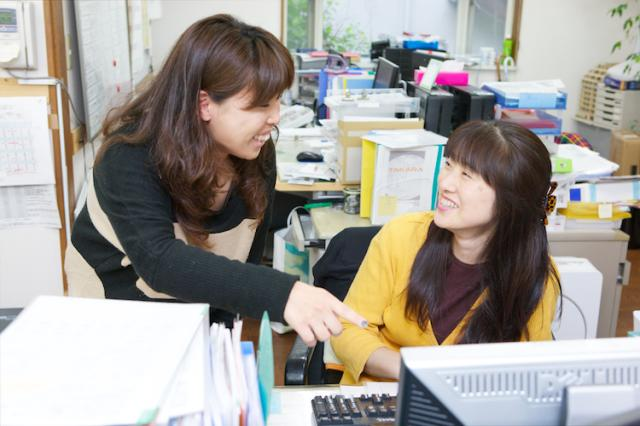 個人個人の適性に合った仕事を任せてくれる職場です。 あなたも自分の新しい可能性を見つけられるかも?!