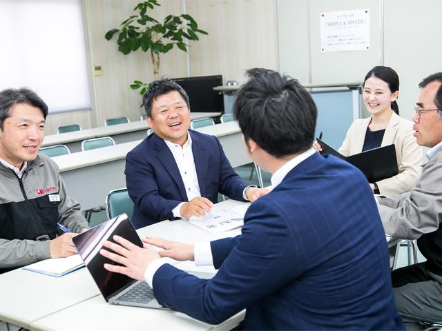"""""""素直な人""""が竹中庭園緑化の原動力。その意志を受け止め、昇華できる企業に。"""
