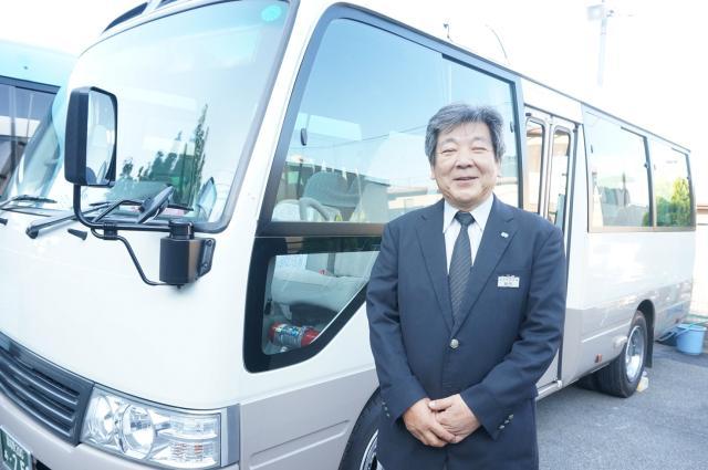 ≪マイクロバス運転手アルバイト募集中≫ 定年退職した60代が活躍中しています!