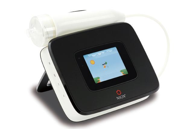 喘息の検査機器