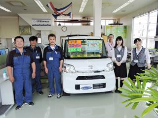 車が好きな方、詳しくなりたい方、山崎自動車でアルバイトしませんか!未経験者にもしっかり研修します!