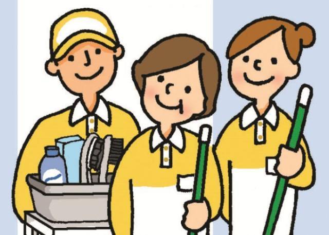 岡山市民病院でのお掃除を一緒にしませんか?☆
