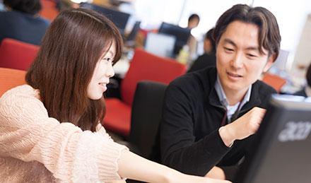 現在、20~30代のスタッフが男女問わず活躍中!働きやすい好条件が揃う職場です♪