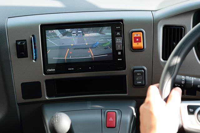 最新の車両設備が、安全運行を強力にバックアップ。