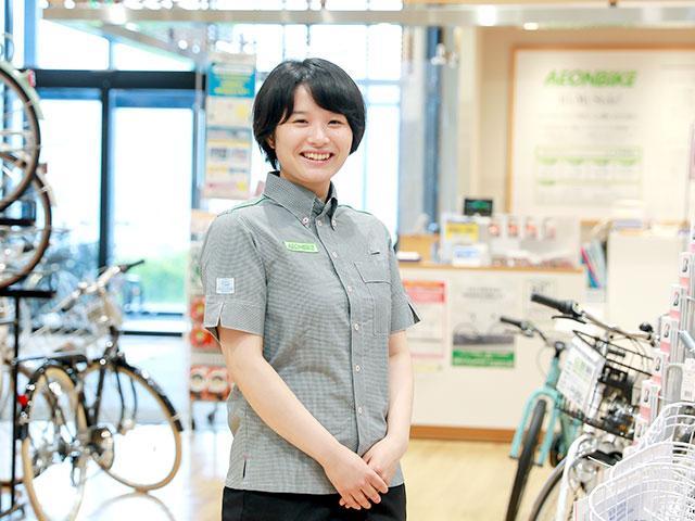 イオンバイク サイクルショップ羽生店 店長