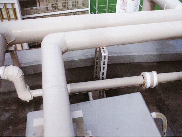 消火補給水管更新工事BEFORE