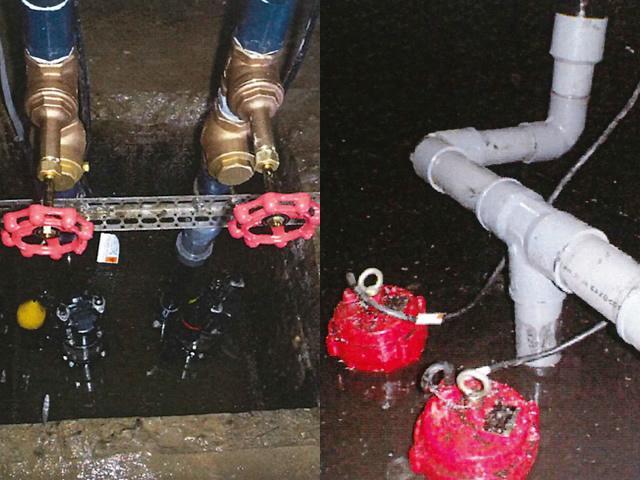排水ポンプ更新工事AFTER