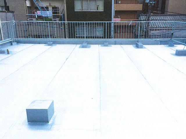 屋上防水改修工事AFTER