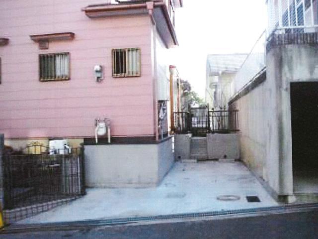 外構工事(庭→駐車場へ)AFTER