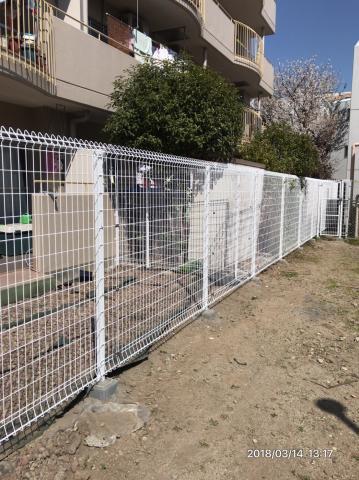 外構フェンス工事例AFTER