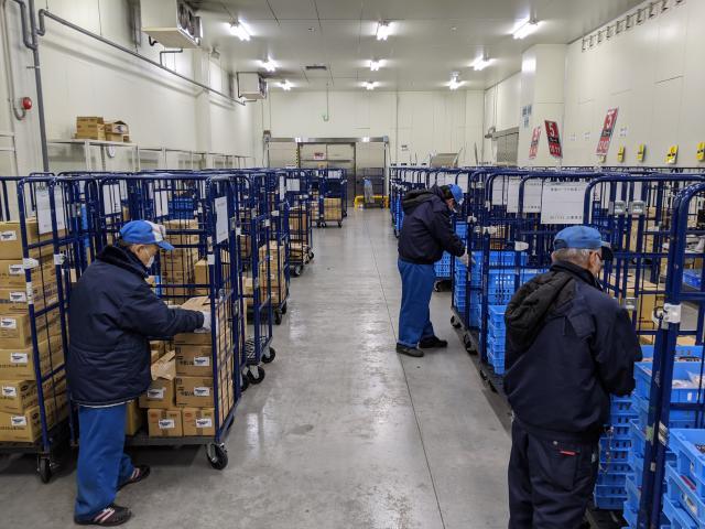 間口東海株式会社 東海コープ小牧要冷セットセンター出張所(構内)
