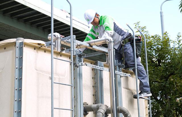 貯水槽清掃・水質検査・配管洗浄