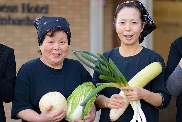 メニューには地元・大衡村の農産物を積極的に採用! 当レストラン、オリジナルメニューも豊富です★
