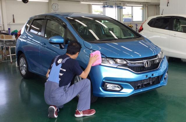 あなたの手で、新車を購入される方が気持ちよく長く乗ってもらえるようにしよう!☆車・バイク通勤OK!