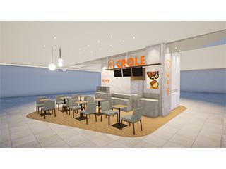 韓国カフェ CROLE
