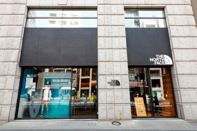 THE NORTH FACE MARK IS みなとみらい店